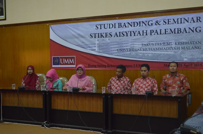 Studi Banding STIKES Aisyiyah Palembang di Fikes UMM